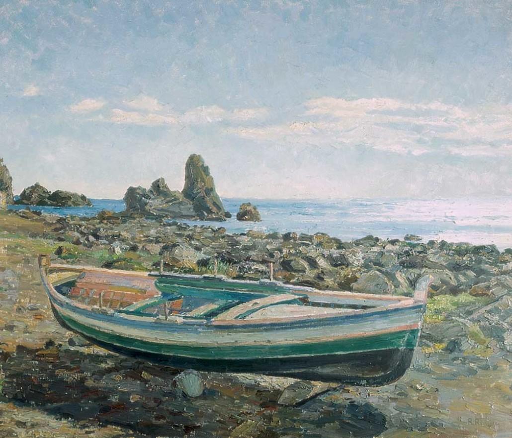 113 La barca sulla scogliera