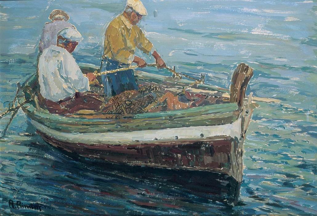 164 Tre pescatori