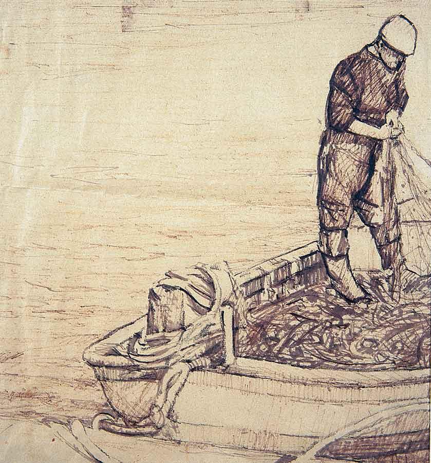 303 Un pescatore