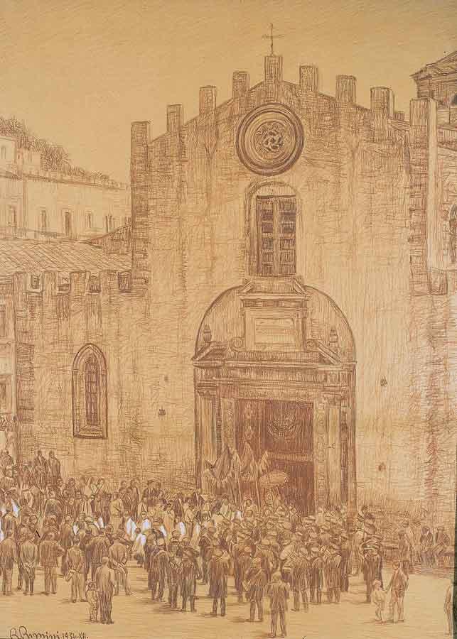 306 Inizio della processione