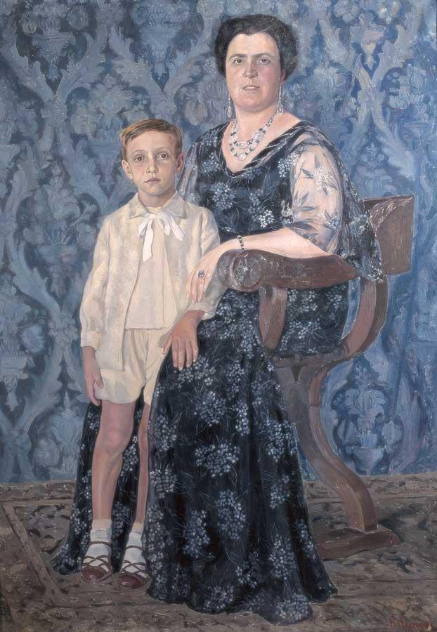 42 Ritratto di Anna con Nicolo