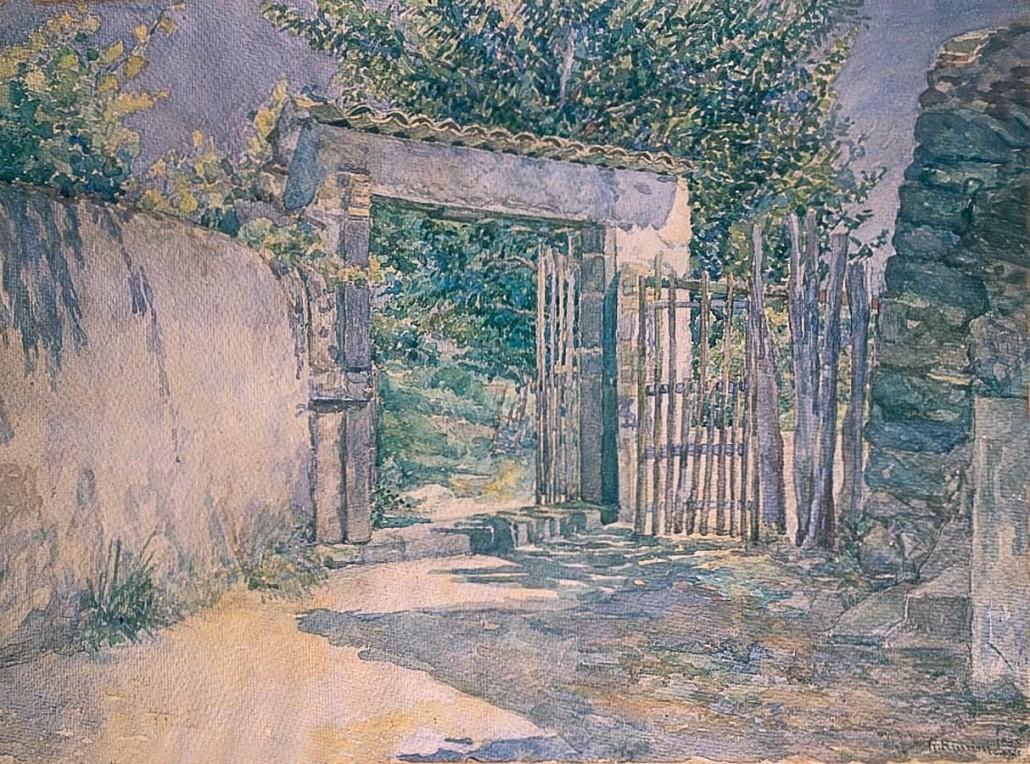 61 Il cancello