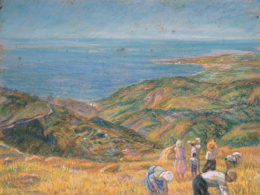 72 Mietitura sulla costa Saracena